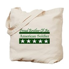 Brother American Soldier Tote Bag
