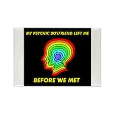 PSYCHIC BOYFRIEND Rectangle Magnet