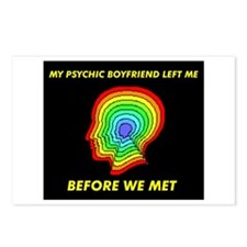 PSYCHIC BOYFRIEND Postcards (Package of 8)