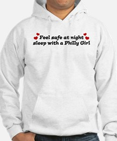 Feel Safe with a Philly Girl Hoodie