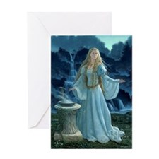 The Oracle Greeting Card