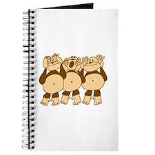See No Evil Monkeys Journal