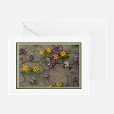 Desert Tapestry Greeting Card
