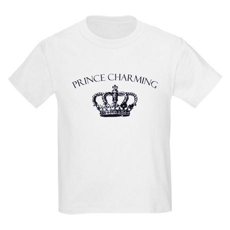 Prince Charming Crown Kids Light T-Shirt