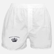 Prince Charming Crown Boxer Shorts
