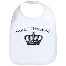 Prince Charming Crown Bib