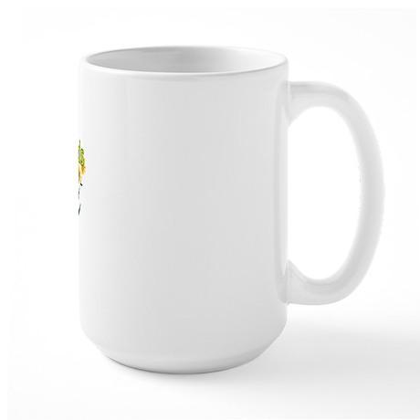 Do not let the weeds grow up Large Mug