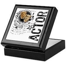 Actor Alchemy Collage Keepsake Box