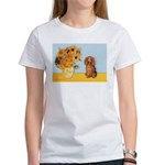 Sunflowers - Doxie (LH,S) Women's T-Shirt