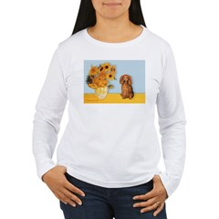 Sunflowers - Doxie (LH,S) T-Shirt