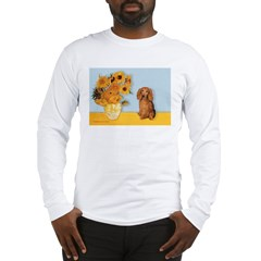 Sunflowers - Doxie (LH,S) Long Sleeve T-Shirt