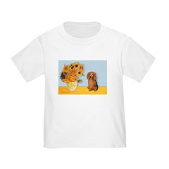 Sunflowers - Doxie (LH,S) T