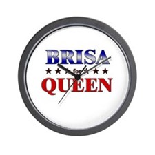BRISA for queen Wall Clock