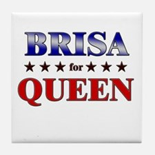BRISA for queen Tile Coaster