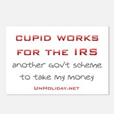 IRS Cupid 2 Postcards (Package of 8)