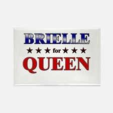 BRIELLE for queen Rectangle Magnet