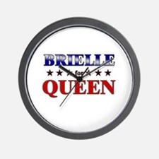 BRIELLE for queen Wall Clock