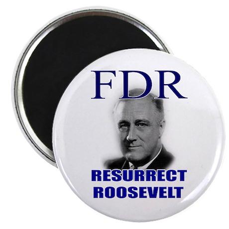 """Resurrect Roosevelt 2.25"""" Magnet (10 pack)"""