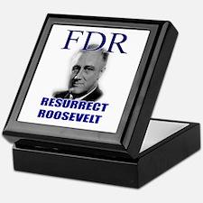 Resurrect Roosevelt Keepsake Box