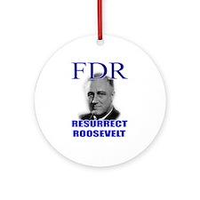 Resurrect Roosevelt Keepsake (Round)