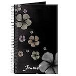 Hibiscus on Black Journal