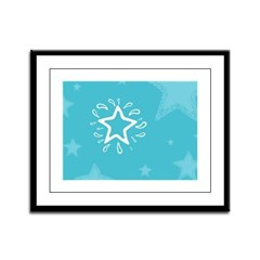 You're a Star! Framed Panel Print