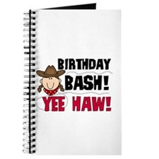 Cowgirl Birthday Bash Journal