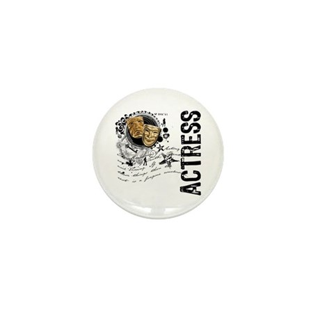Actress Alchemy Collage Mini Button (10 pack)