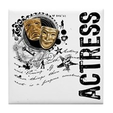 Actress Alchemy Collage Tile Coaster