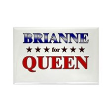 BRIANNE for queen Rectangle Magnet