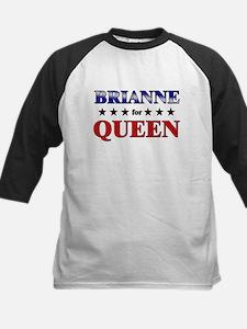 BRIANNE for queen Kids Baseball Jersey