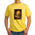 Queen Liz & Her Westie Yellow T-Shirt