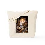 Queen Liz & Her Westie Tote Bag