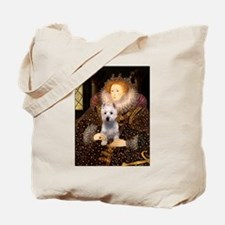 Queen Liz & Her Westie Tote Bag