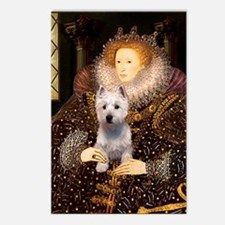 Queen Liz & Her Westie Postcards (Package of 8)
