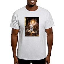 Queen Liz & Her Westie T-Shirt