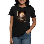 Queen Liz & Her Westie Women's Dark T-Shirt