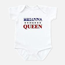 BRIANNA for queen Infant Bodysuit