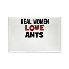 Real Women Love Ants Rectangle Magnet