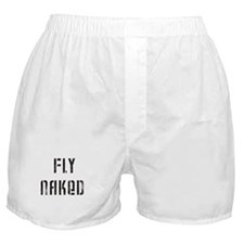 Fly Naked Boxer Shorts