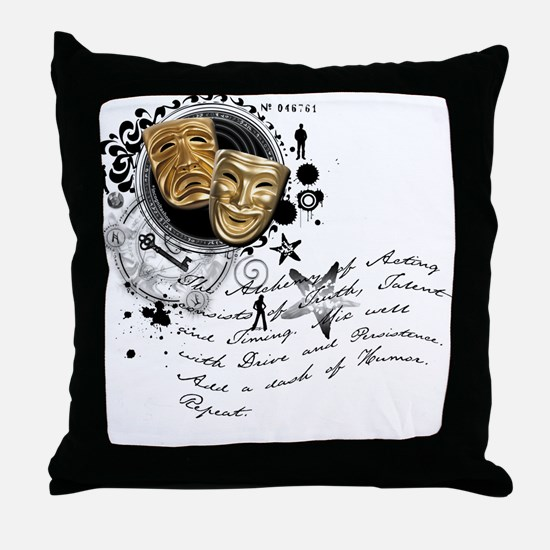 The Alchemy of Acting Throw Pillow