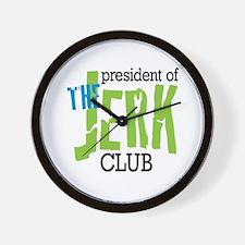 The Jerk Club Wall Clock