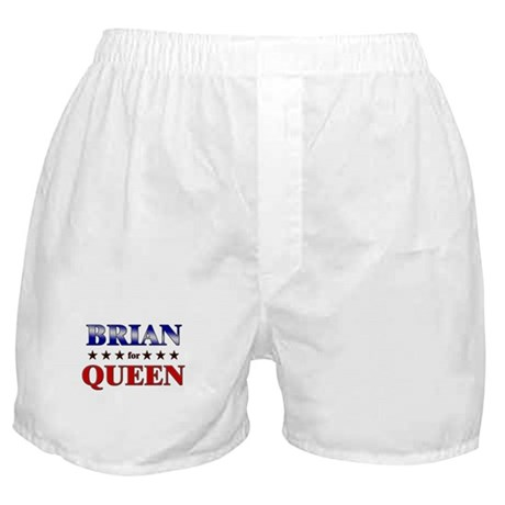 BRIAN for queen Boxer Shorts