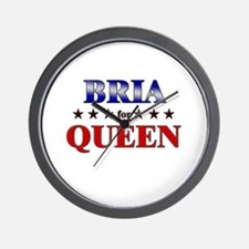 BRIA for queen Wall Clock