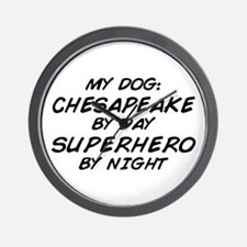 Chesapeake Superhero Wall Clock
