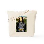Mona & her PS Giant Schnauzer Tote Bag