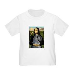Mona & her PS Giant Schnauzer Toddler T-Shirt