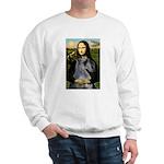 Mona & her PS Giant Schnauzer Sweatshirt