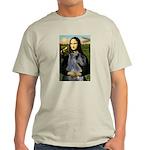 Mona & her PS Giant Schnauzer Light T-Shirt