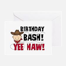 Boys Birthday Bash Greeting Card